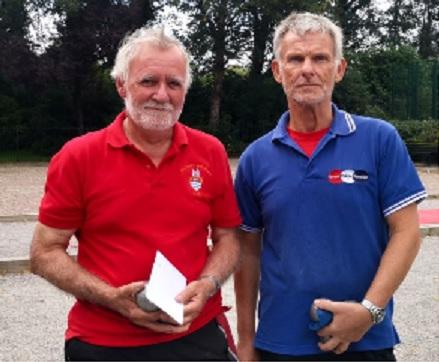 Charles + Alan